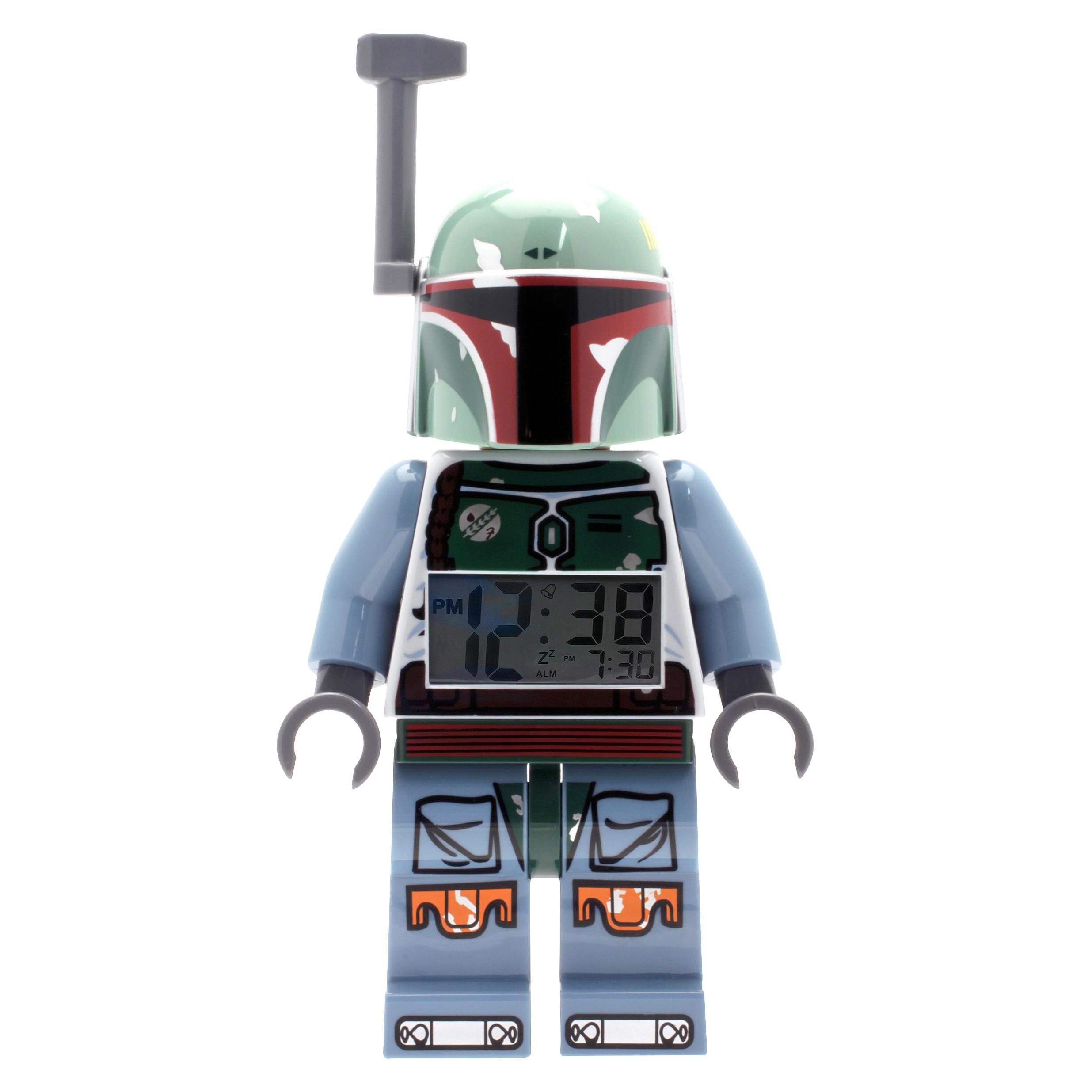 LEGO Boba Fett Minifigure Clock (5000249) (2012)