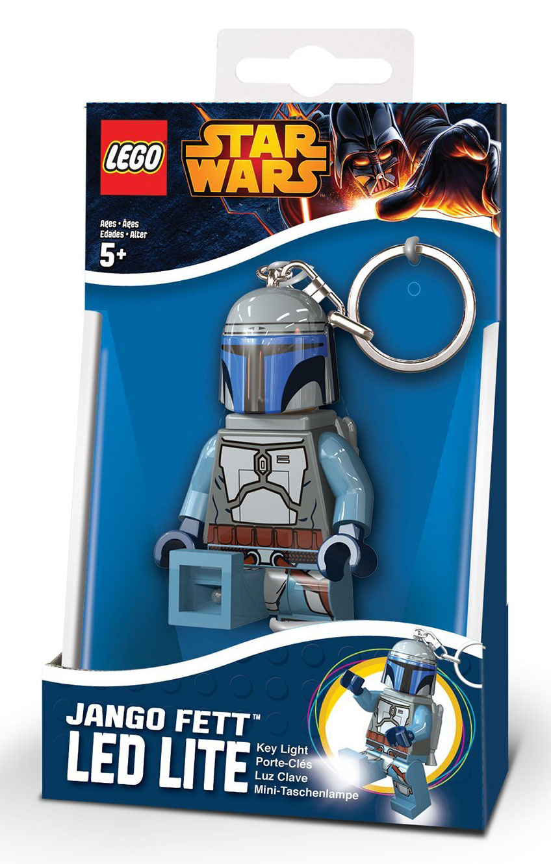 LEGO Jango Fett LED Lite Key Light, Boxed
