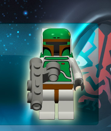 Lego Star Wars The Complete Saga Boba Fett Fan Club