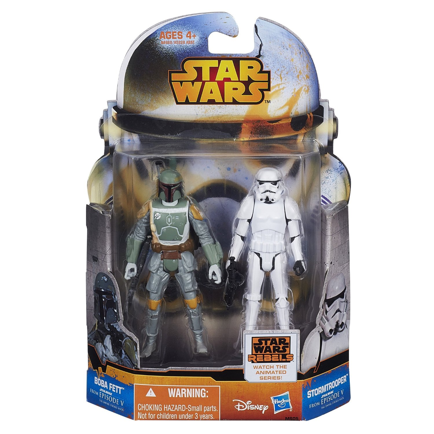 "Mission Series ""Empire"" Boba Fett and Stormtrooper Hasbro (2014)"