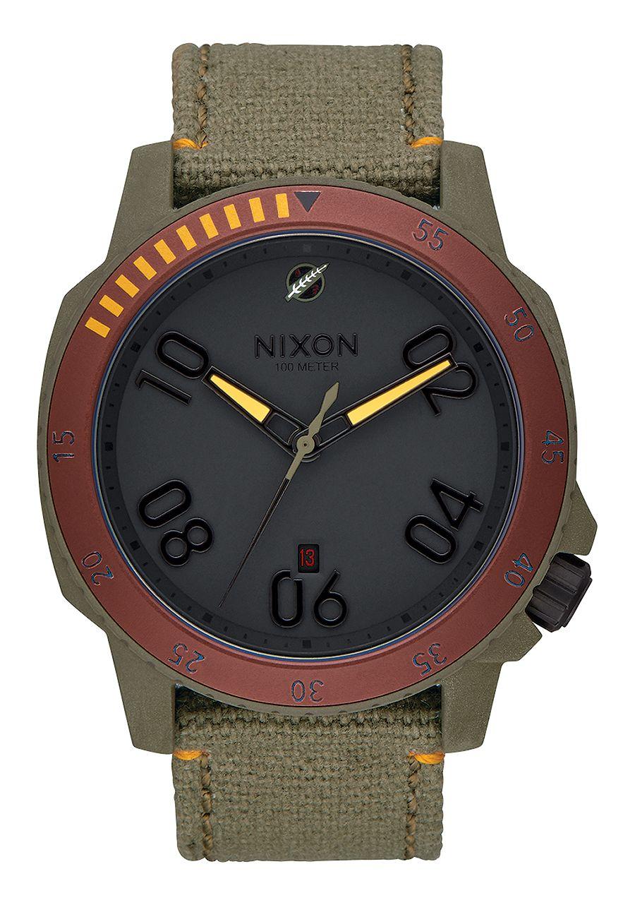 "Nixon Analog Boba Fett Watch (""RANGER SW, 44 MM"")"