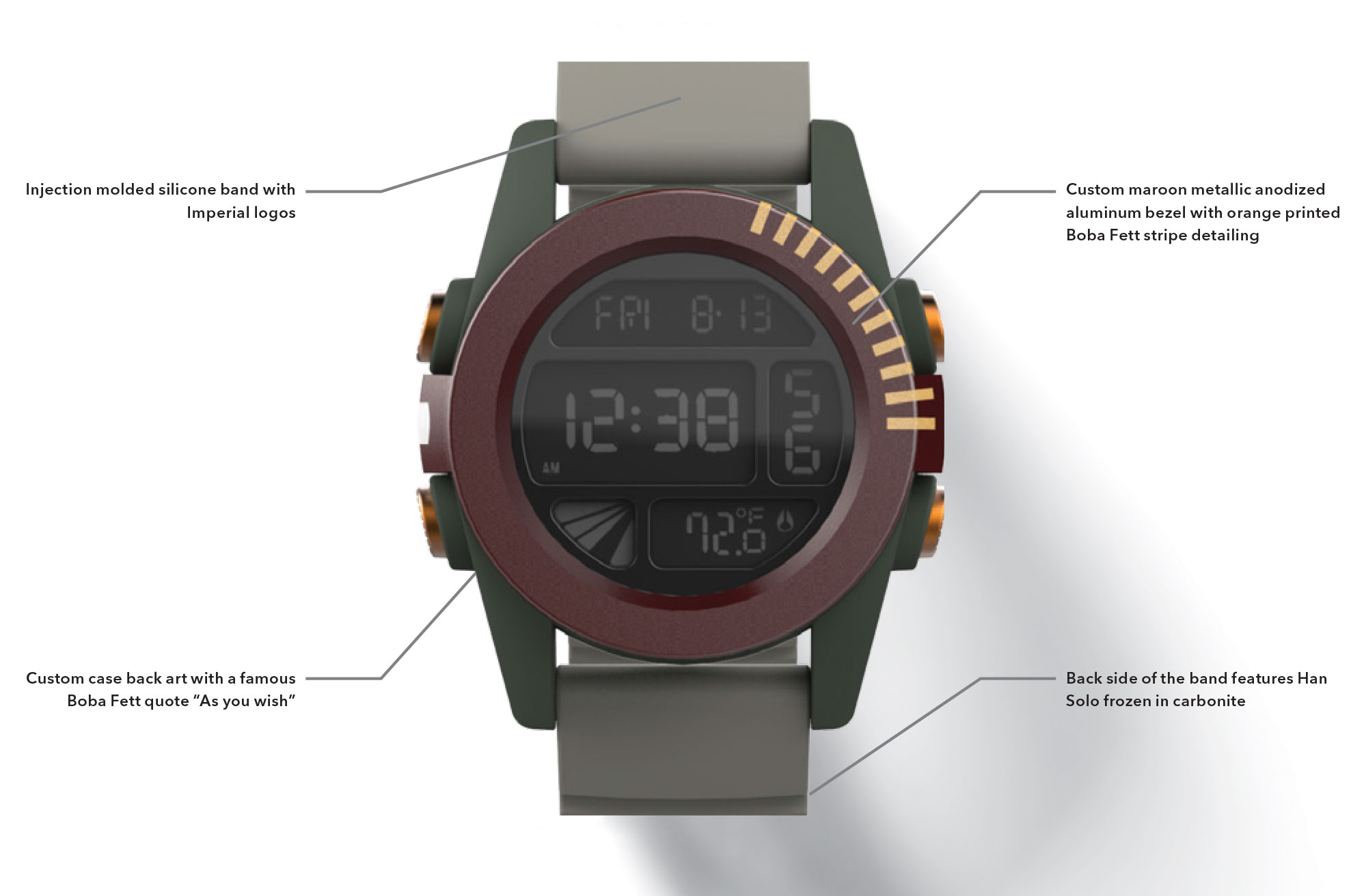 "Nixon Boba Fett ""Unit"" Watch (2015)"