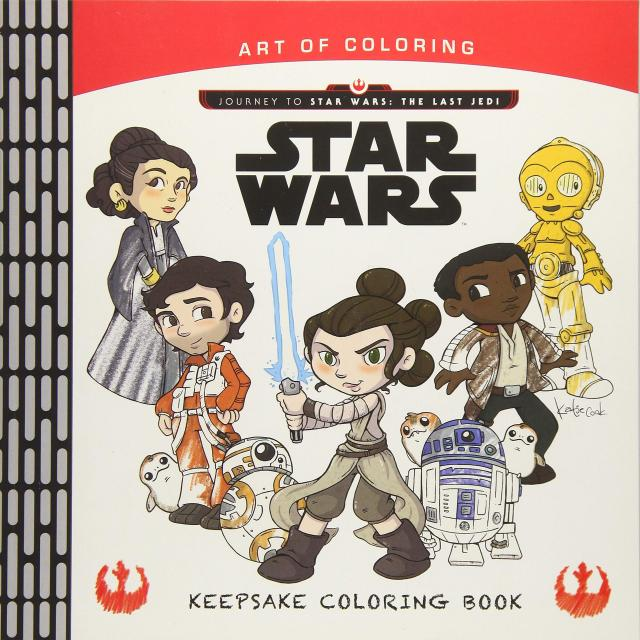 Art of Coloring Journey to Star Wars: The Last Jedi ...