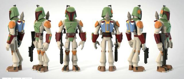 NEW Disney Infinity 3.0 Boba Fett Star Wars Character