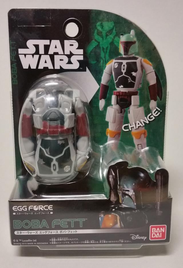 Star Wars Egg Force Boba Fett