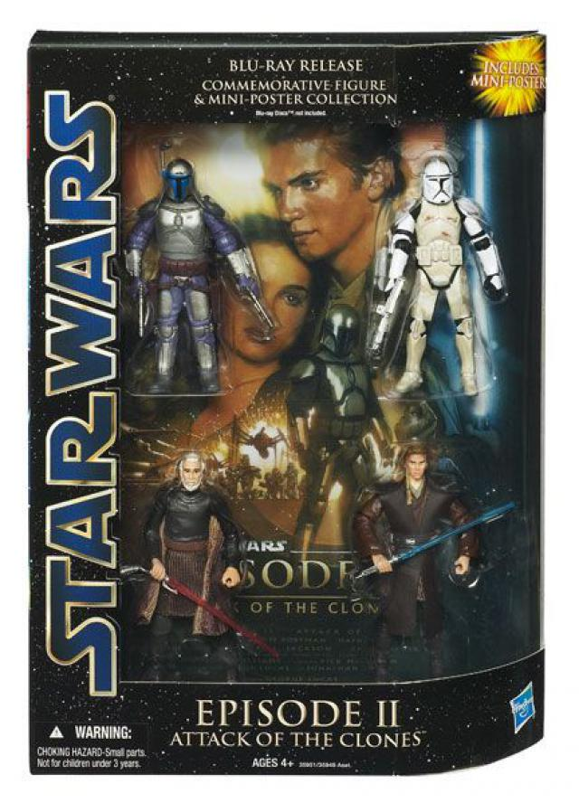 Episode Ii Attack Of The Clones Blu Ray Release