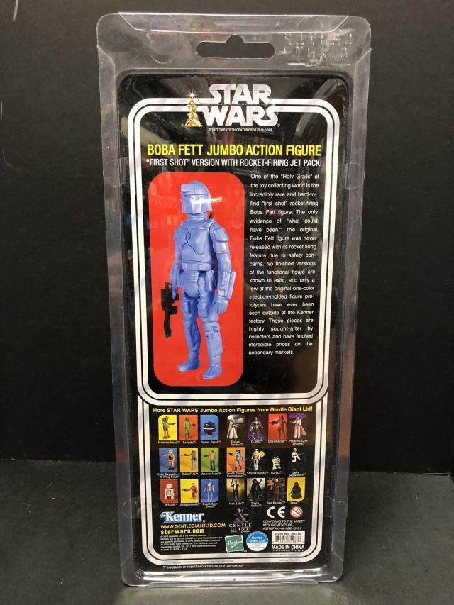 "GENTLE GIANT STAR WARS /_ Boba Fett Rocket tir 12 /""figurine Kenner /_ Comme neuf en Paquet"