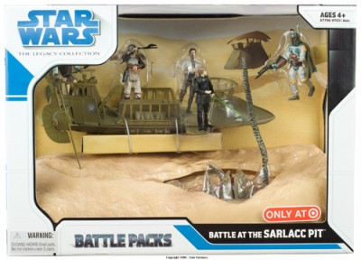 Battle Packs Battle at the Sarlacc Pit (Target Exclusive