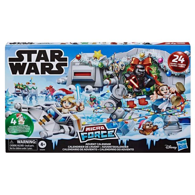 Calendrier Star Wars 2019.Micro Force 2019 Star Wars Advent Calendar Boba Fett Fan Club