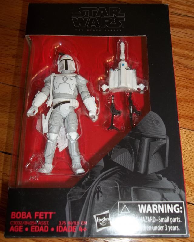 Star Wars Black Series 3.75 Prototype Boba Fett Walmart Exclusive
