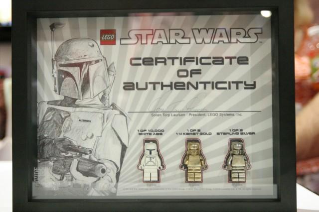 LEGO White, Gold, and Silver Boba Fett Set (Celebration V and San ...