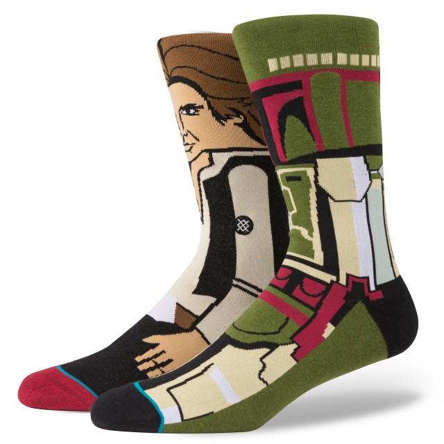 Stance Boba Fett and Han Solo Socks - Boba Fett Fan Club
