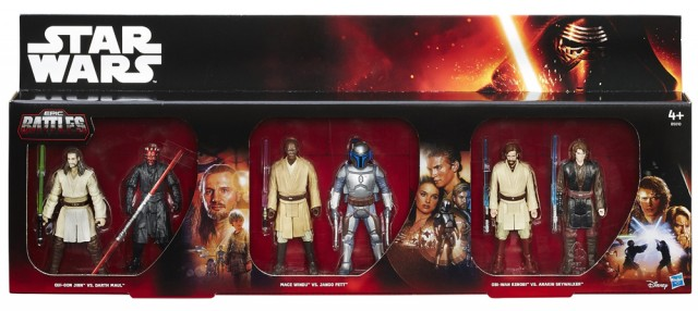Star Wars Toys R Us : Star wars epic battles prequel trilogy toys r us