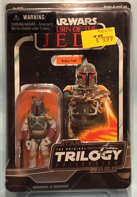 "Original Trilogy Collection ""Return of the Jedi"" Boba Fett (Vintage) (2004)"