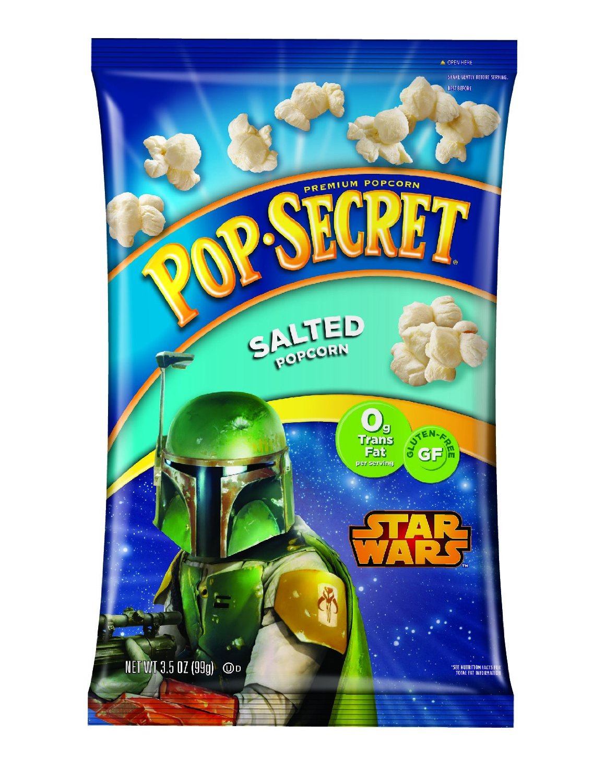 Pop Secret Boba Fett Salted Popcorn (2015)