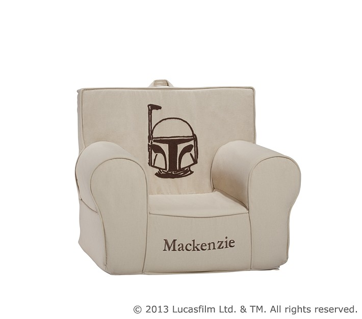 Pottery Barn Kids Boba Fett Crewel Anywhere Chair, Personalized (2013)