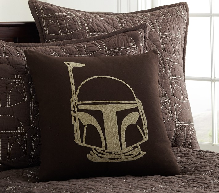 Pottery Barn Kids Boba Fett Decorative Sham (2013)