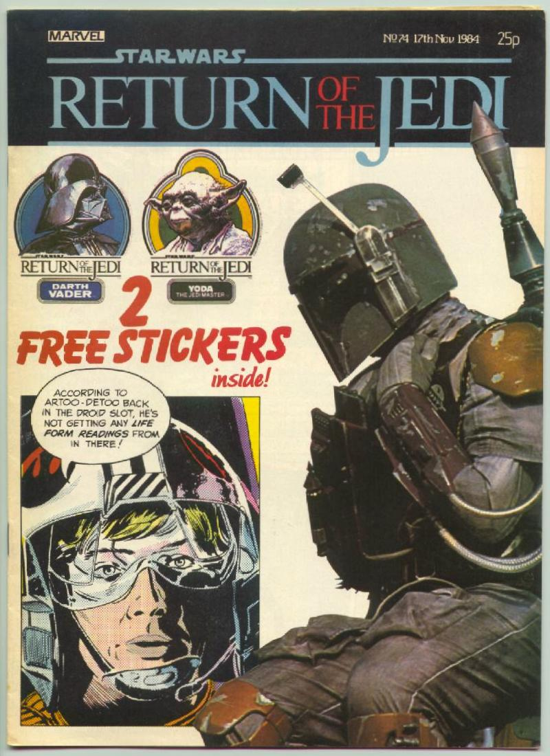 Return of the Jedi Weekly #74 (UK) (1984)