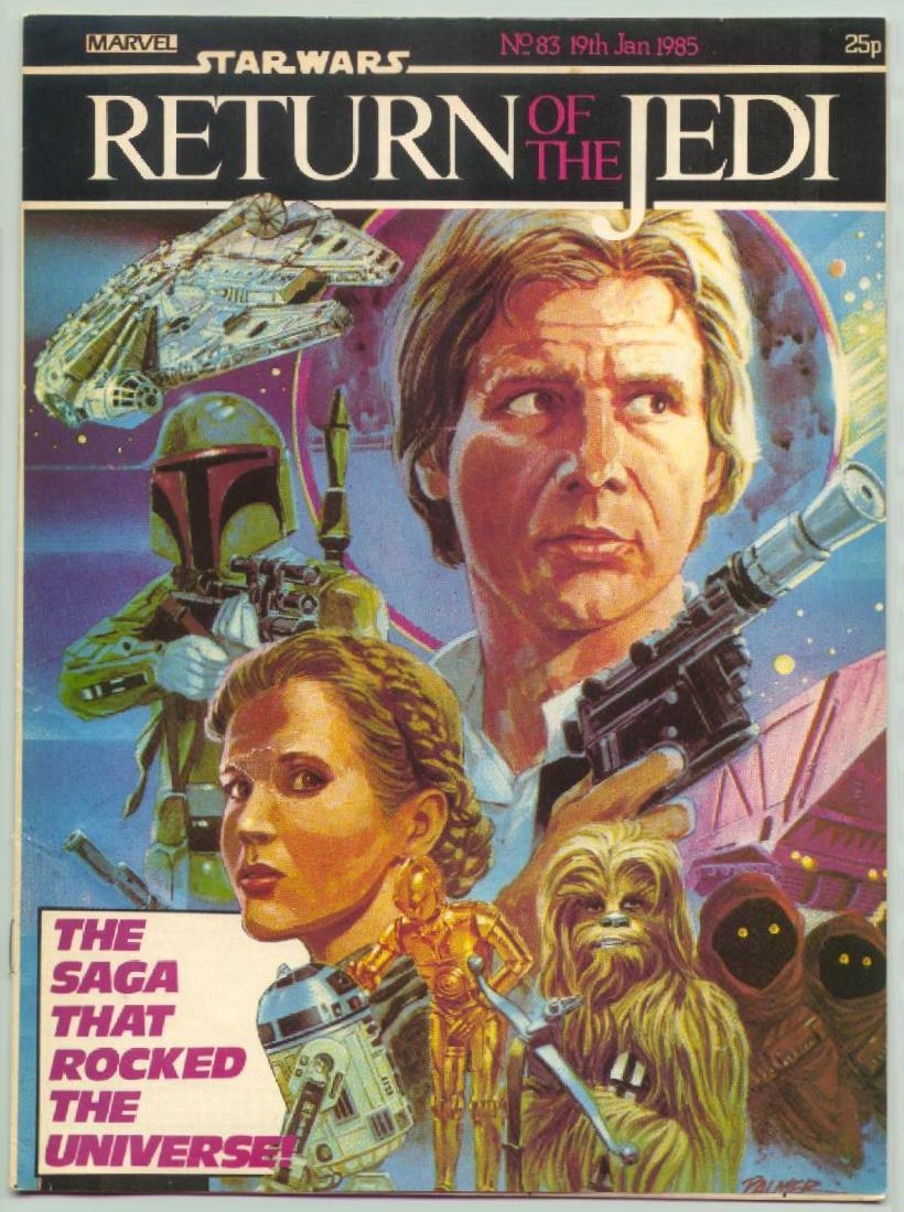 Return of the Jedi Weekly #83 (UK) (1984)