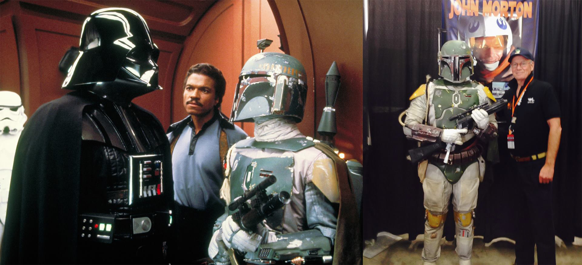 "Rick Ponte as ROTJ:SE Boba Fett with ""Bespin"" Boba John Morton (Fan Spotlight 10/24/2014)"