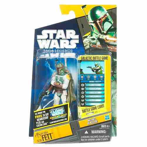 Saga Legends Boba Fett Action Figure (2011)
