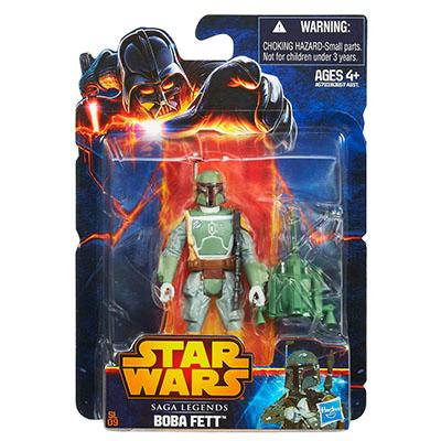 Saga Legends Boba Fett Action Figure (2013)