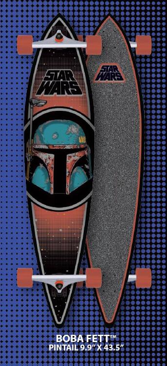 Santa Cruz Boba Fett Pintail Skateboard