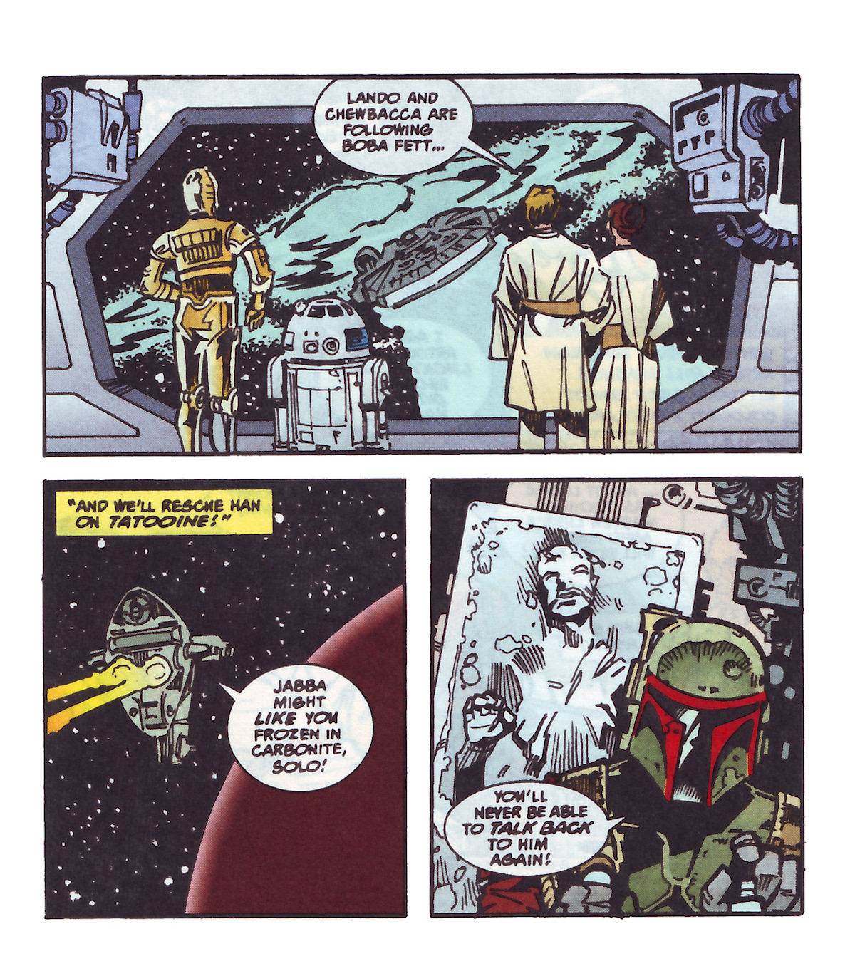 Shadows of the Empire (Micro Machines Mini Comic) (1996)
