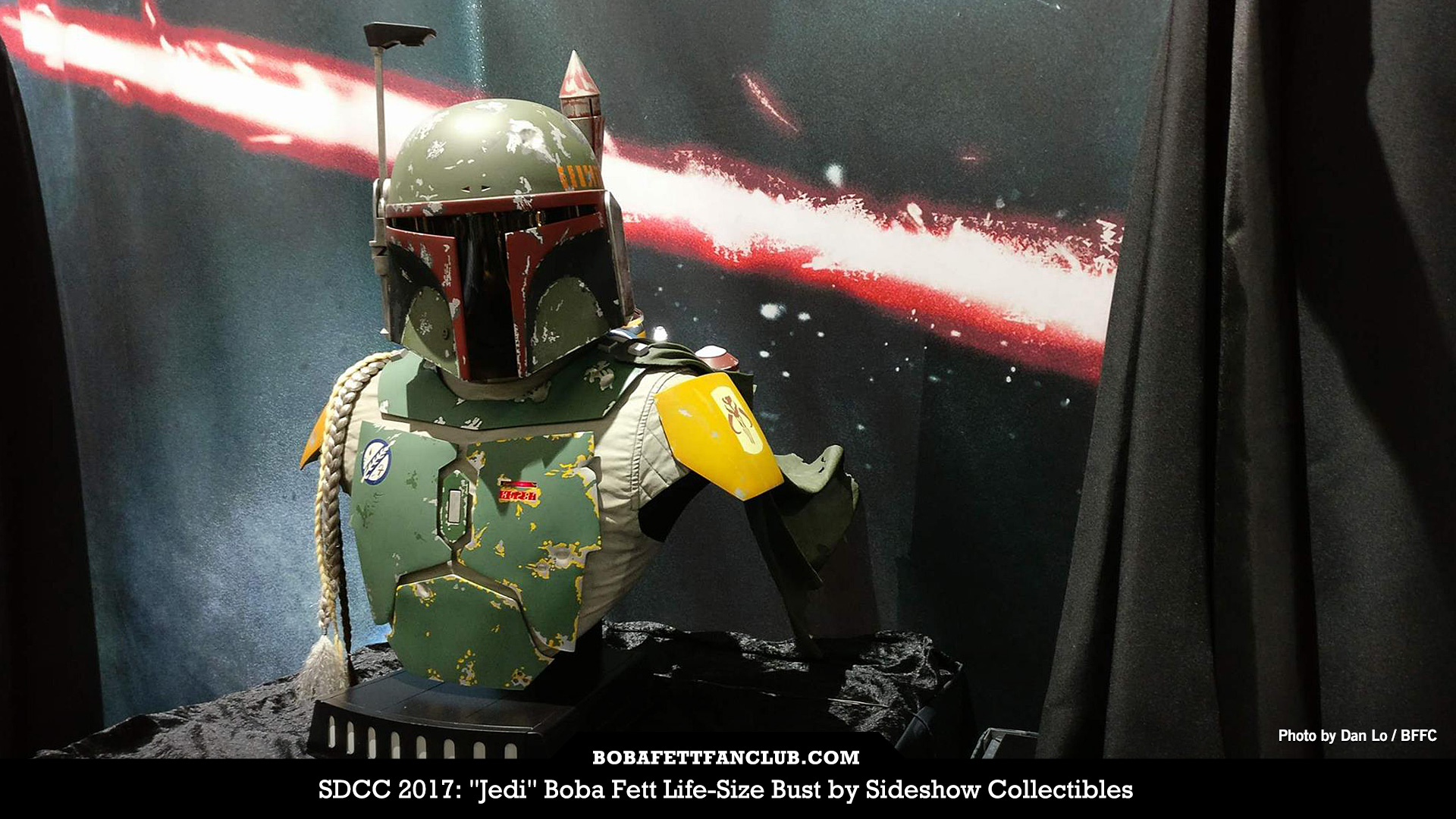 "Sideshow Collectibles ""Jedi"" Boba Fett Life-Size Bust"