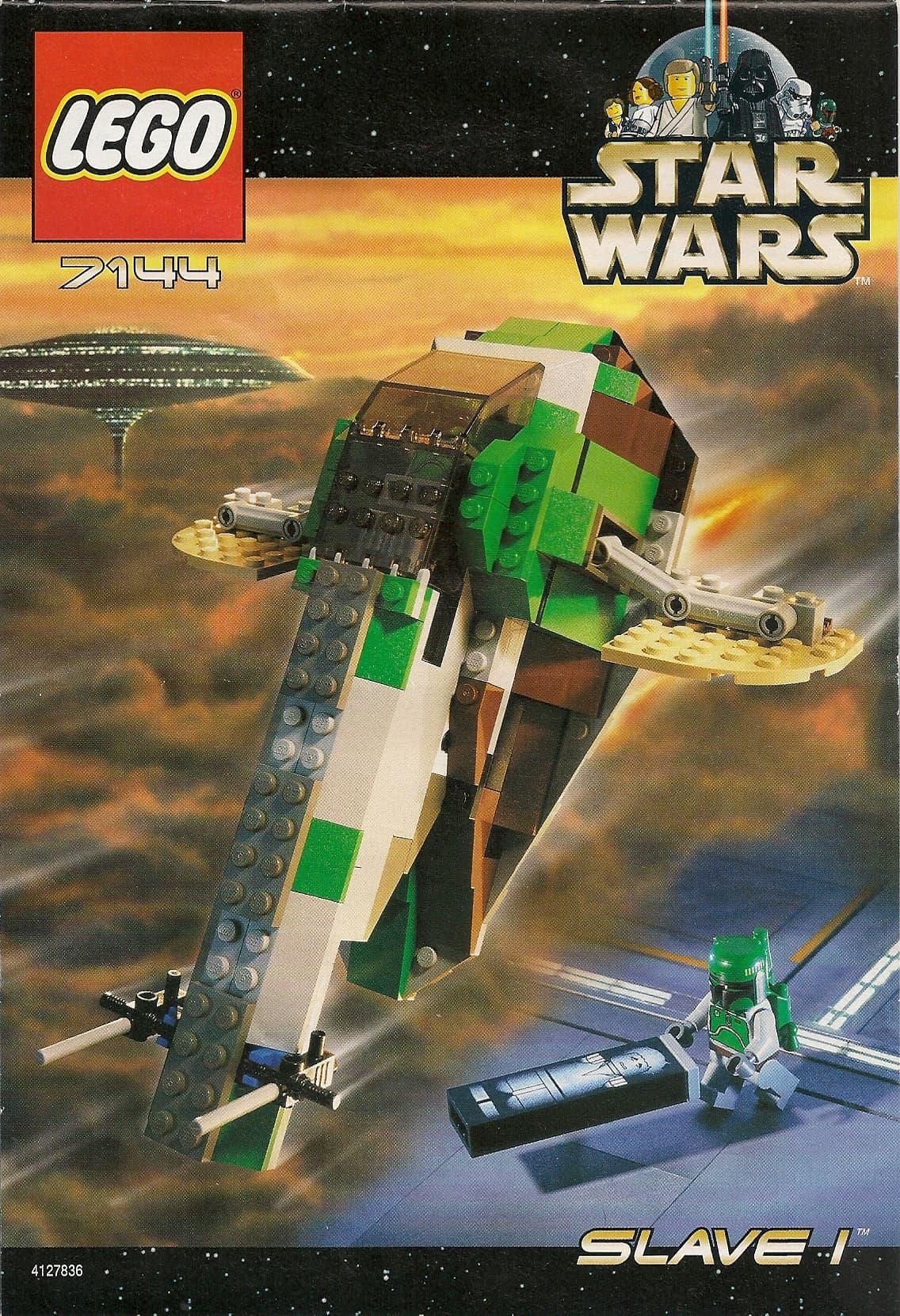Star Wars Slave 1 (7144) - Boba Fett Collectibles - Boba Fett Fan Club