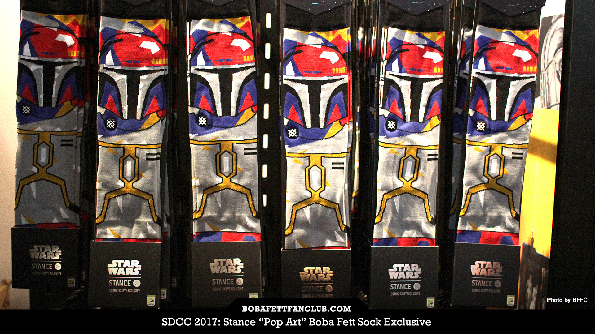 "Stance ""Pop Art"" Boba Fett Socks"