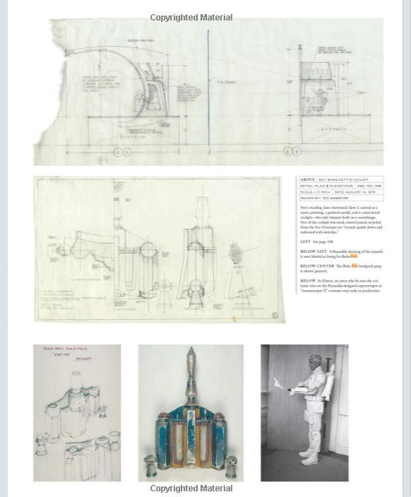 Image: Star Wars: The Blueprints (2013), Boba Fett\'s Jetpack Page ...