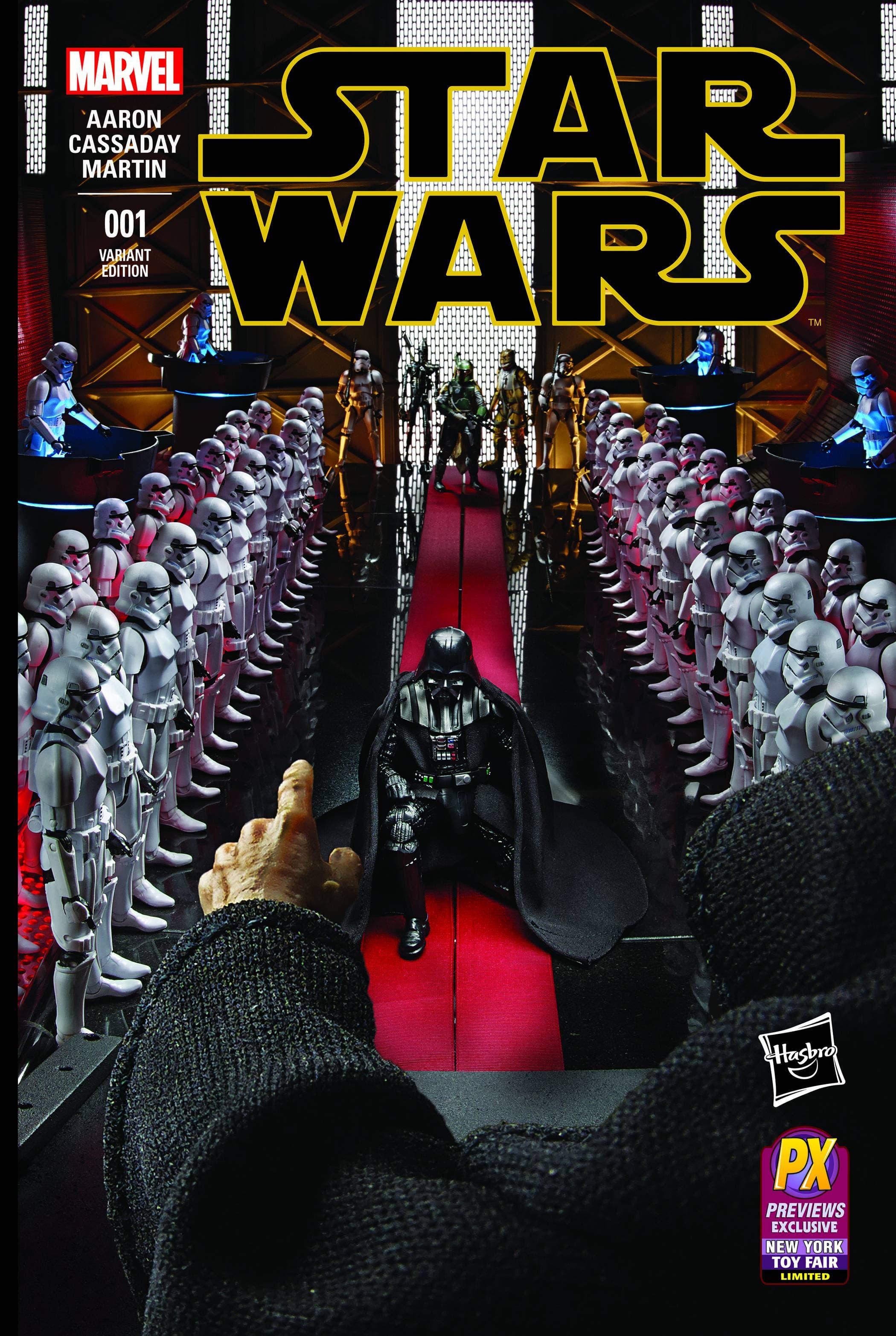 Star Wars #1 (Diamond Comic / Hasbro Exclusive)