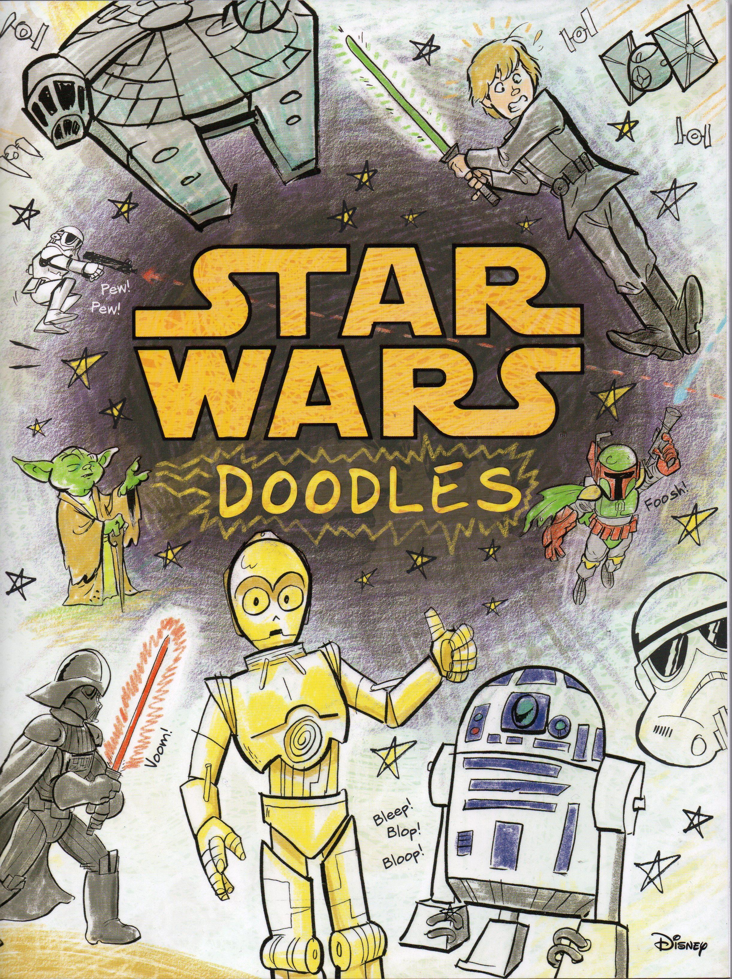 Star Wars Doodle Book (2015)