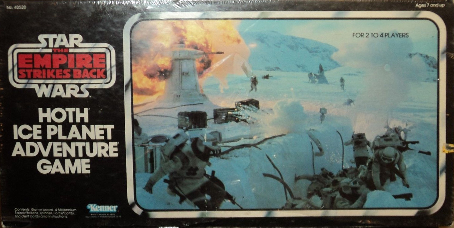Star Wars: Hoth Ice Planet Adventure Game (1980)