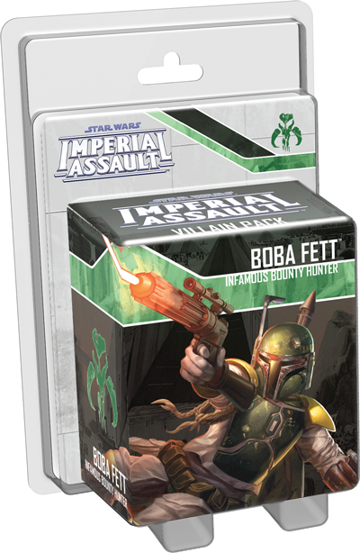 Star Wars: Imperial Assault, Boba Fett Villain Pack (2015)