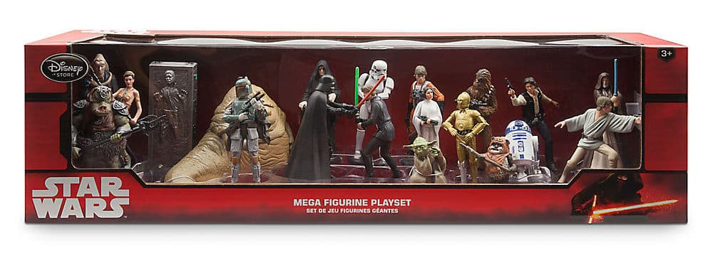 Disney Star Wars Mega Figurine Set (2015)