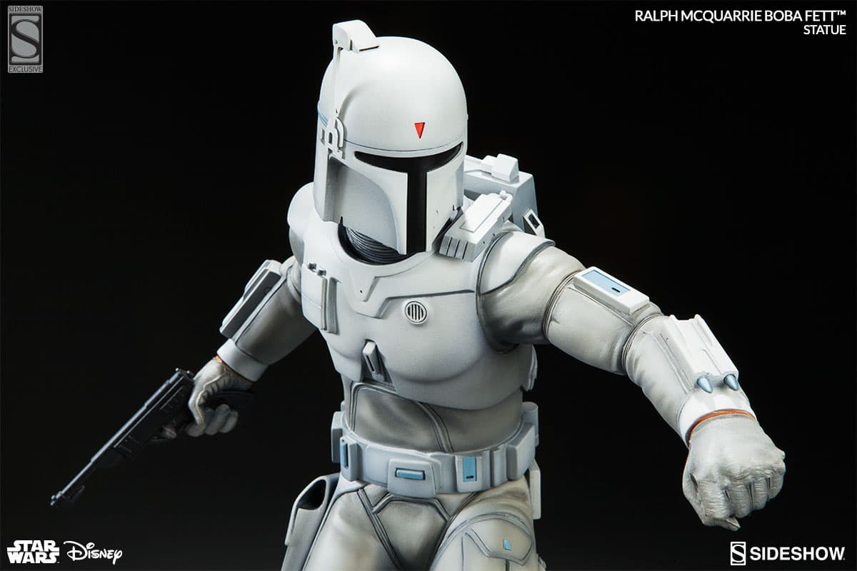 Sideshow Collectibles Ralph McQuarrie Boba Fett Concept Statue (2016)