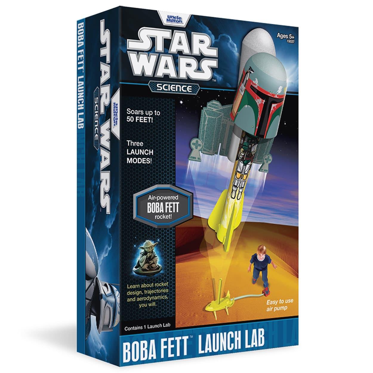 Star Wars Science Boba Fett Launch Lab (2011)