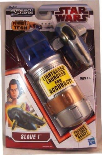 Star Wars Speed Stars: Lightsaber Launcher: Boba Fett's Slave I