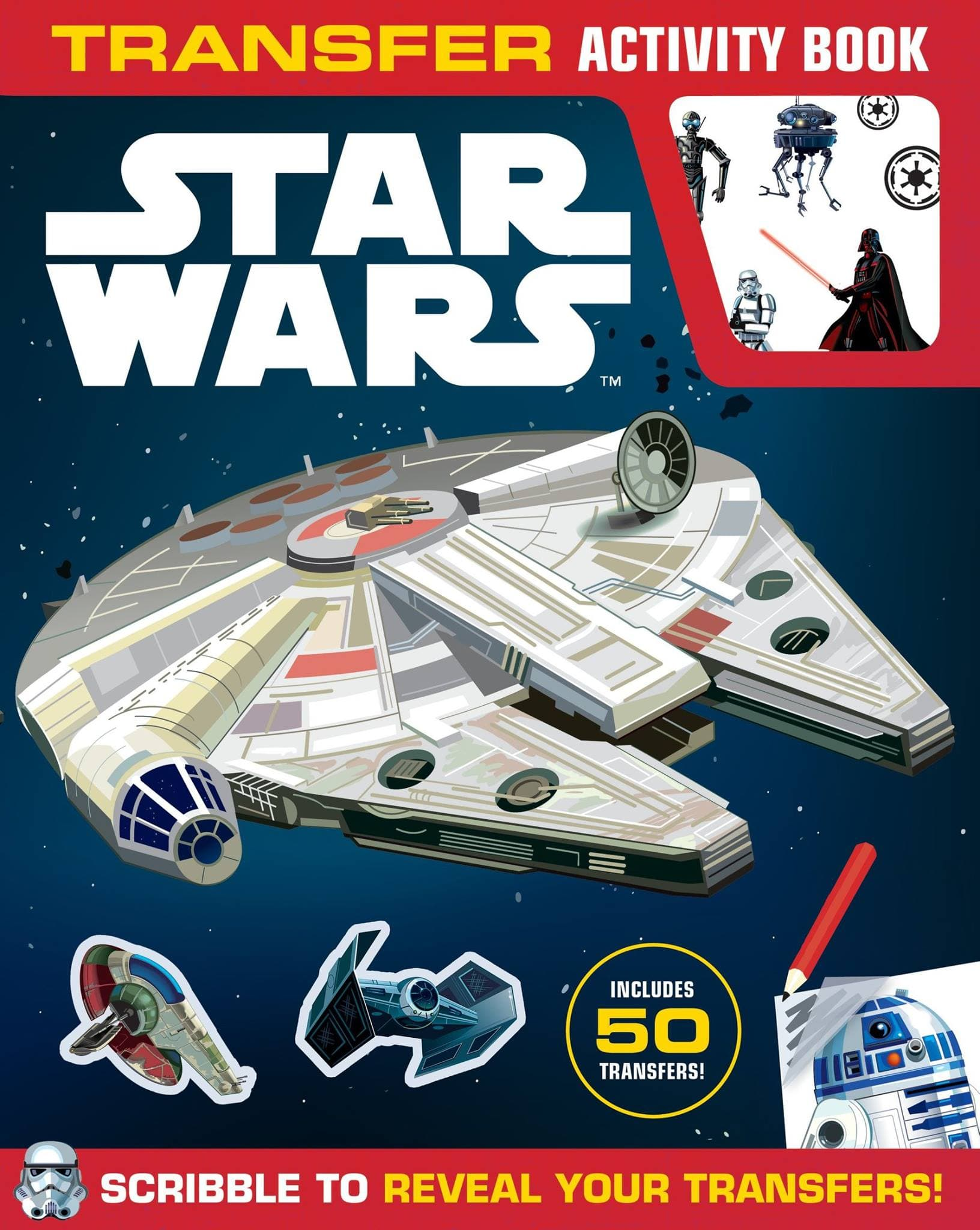 Star Wars Transfer Activity Book (2015)