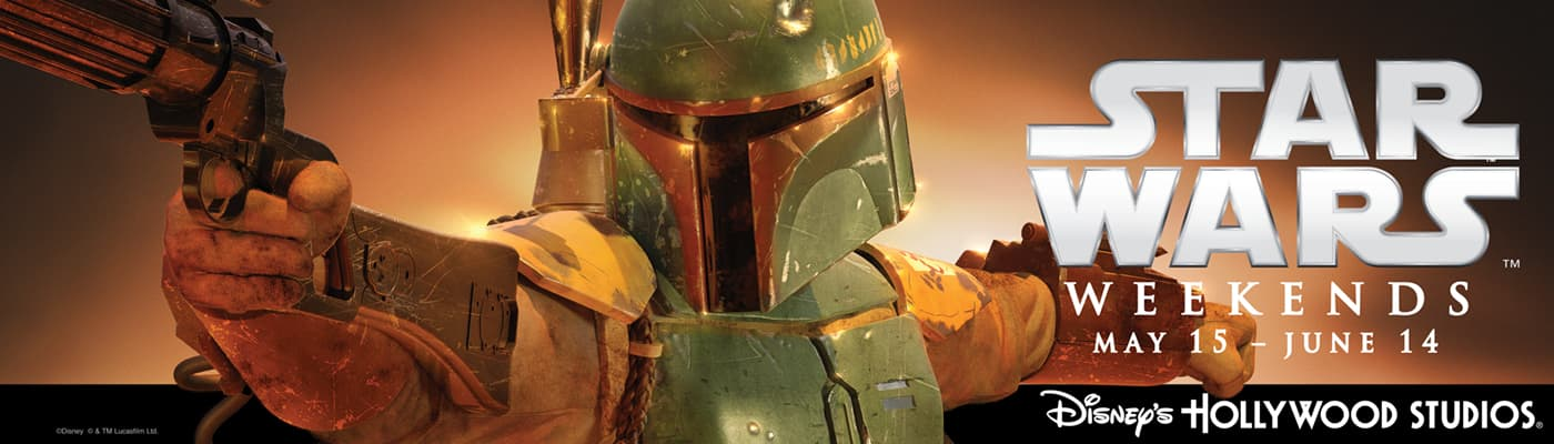 Star Wars Weekends 2015, Boba Fett Billboard (Version 2)