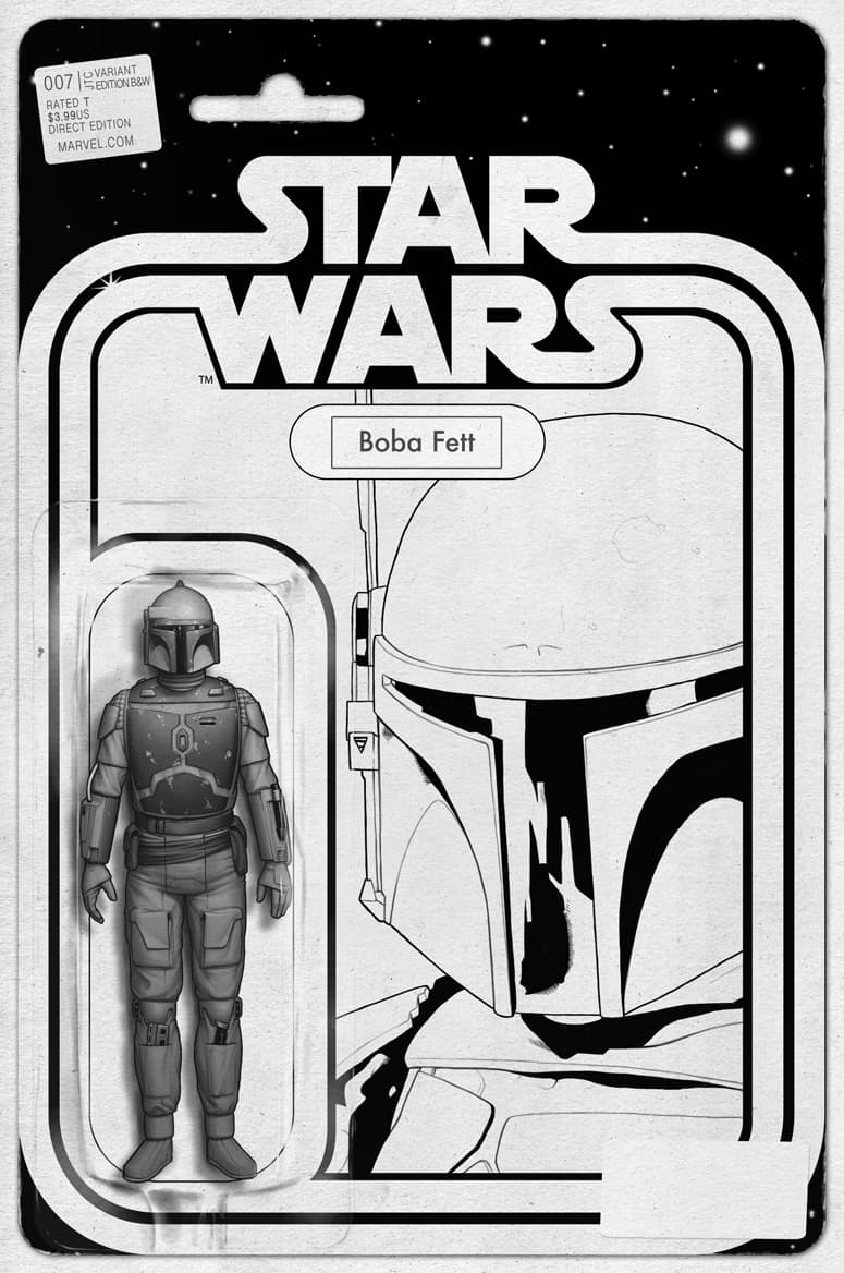 Star Wars #7 (B&W Action Figure Variant by John Tyler Christopher) (2015)