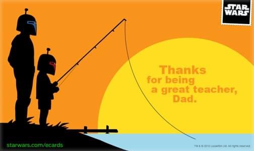 StarWars.com Happy Father's Day Card