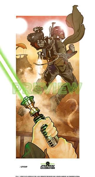 """""""Tatooine Showdown"""" by Shea Standefer (2015)"""