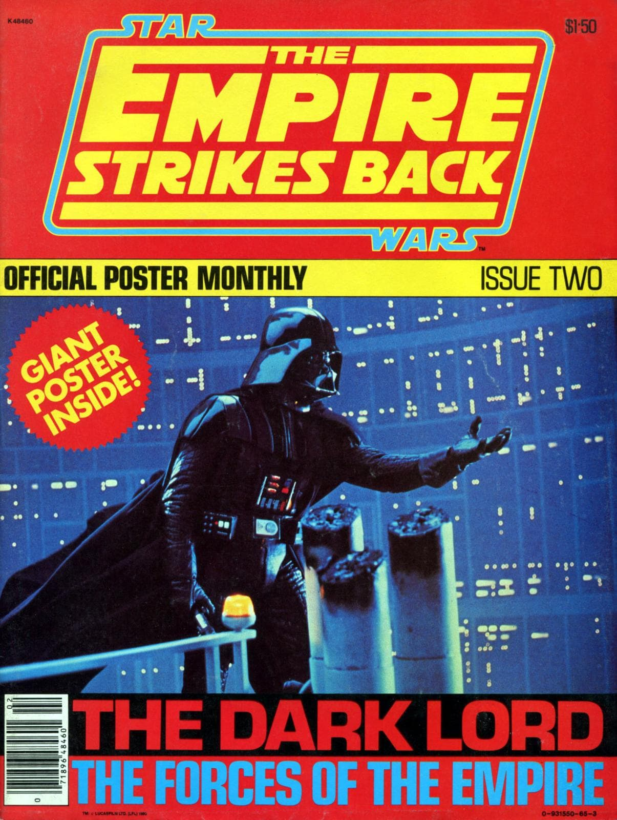 The Empire Strikes Back Poster Magazine #2 (1980)