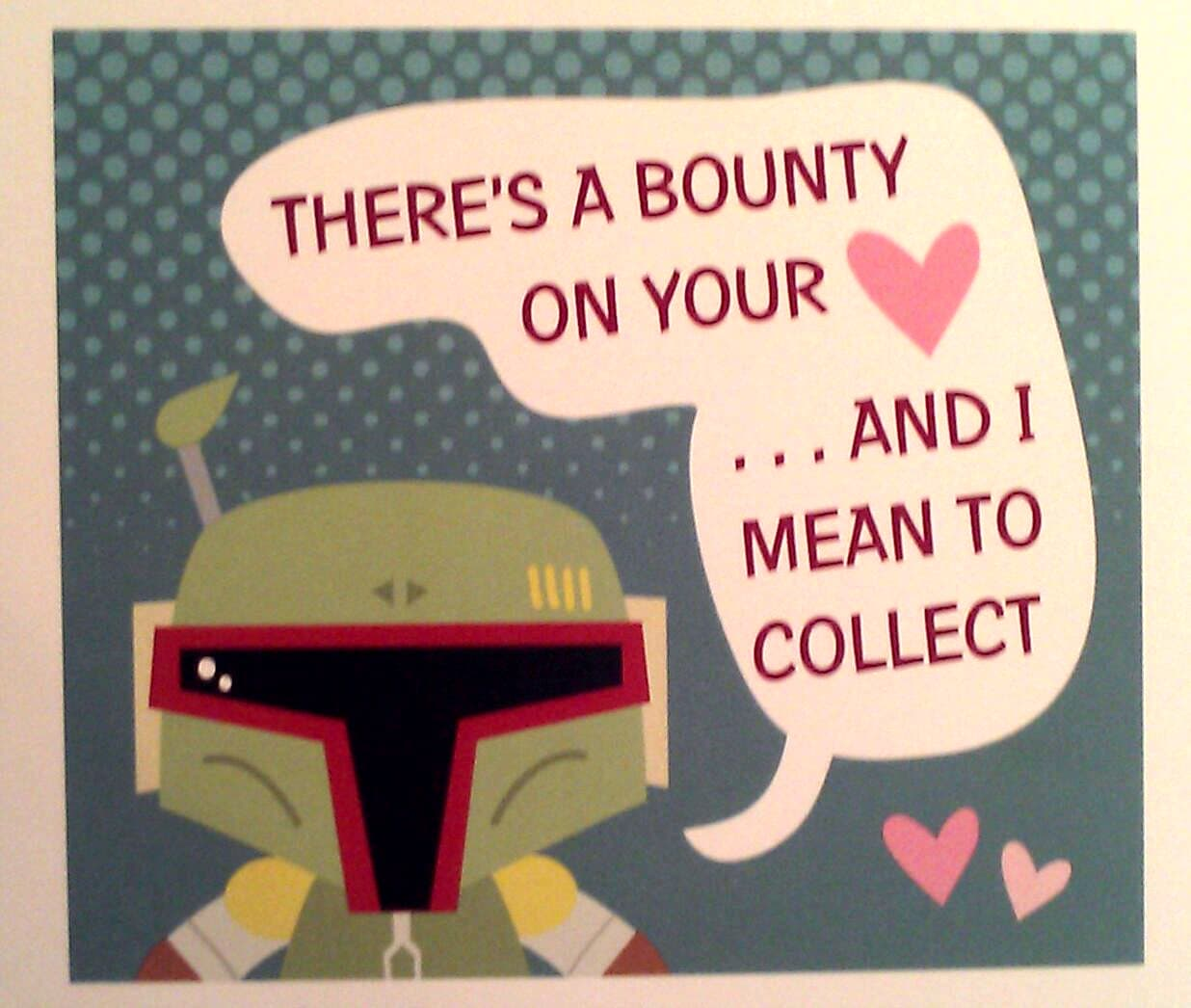 Valentines Day Guide Boba Fett News Boba Fett Fan Club – Mean Valentine Cards