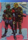 """Topps Star Wars Galaxy """"Boba Fett / Dengar"""" Promo Card (1993)"""