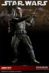 Sideshow Collectibles Jango Fett Bronze Statue