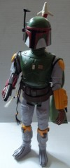 "Boba Fett Large Size Action Figure in ""Star Wars"" Box"
